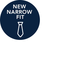 Narrow Fit Ties