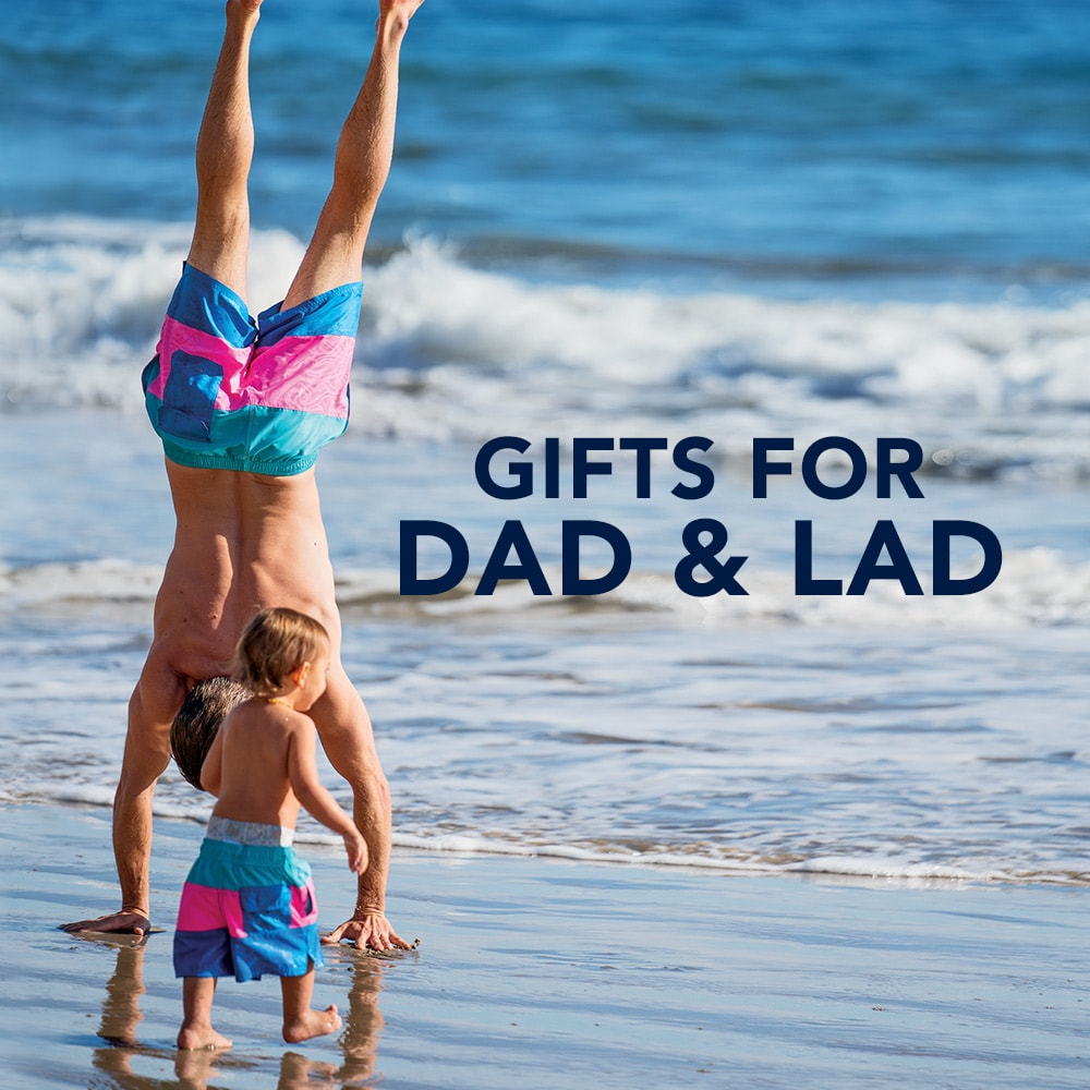 Gifts for dad and lad.