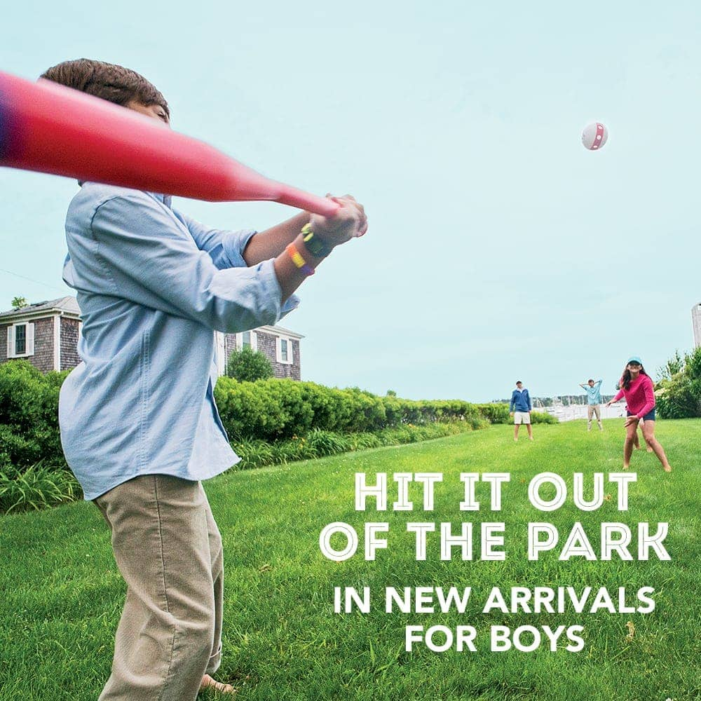 Hit it Out of the Park in New Arrivals for Boys