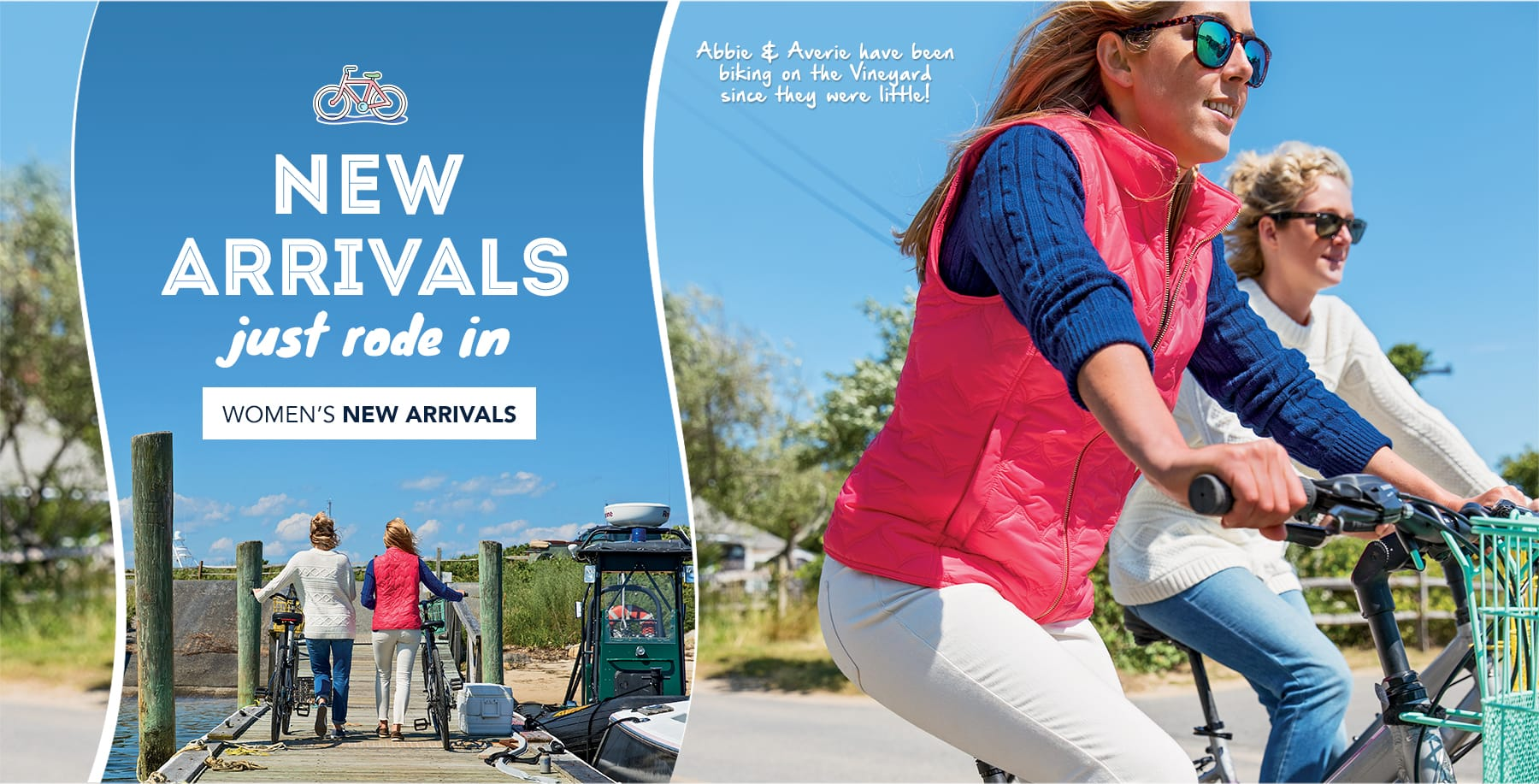 New arrivals just rode in. Shop womens new arrivals.