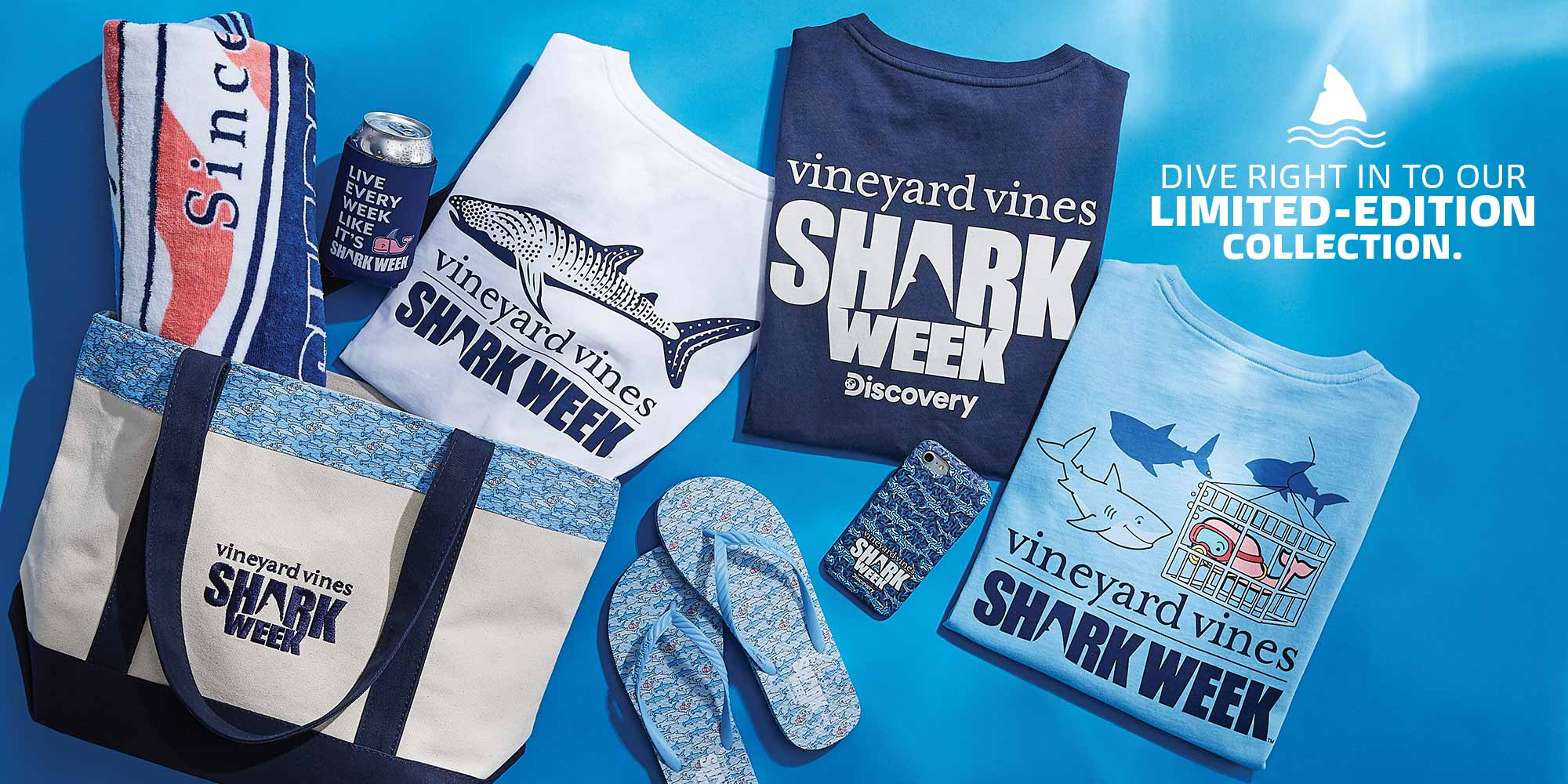 vineyard vines x Discovery Shark Week Collection is Back!