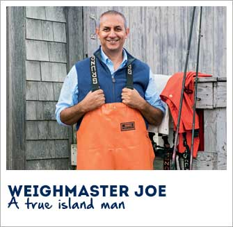 Weighmaster Joe: A true island man