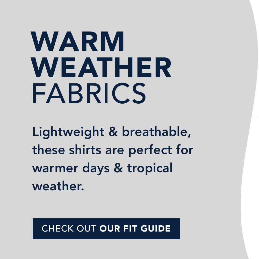 Warm Weather Sport Shirts