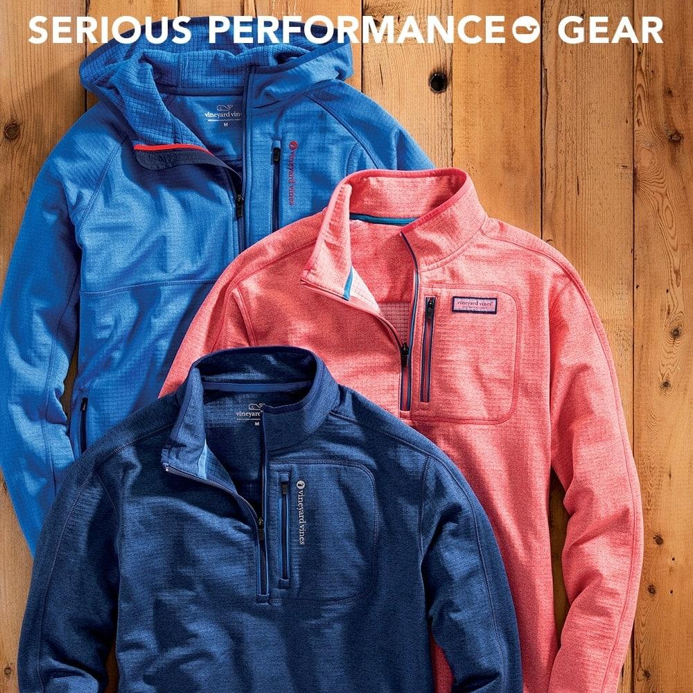 Seriors Performance Gear. Mens Performance Shop
