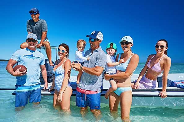 c82a35d165792 Our Islamorada family does Sandbar Sunday right—with the best swim