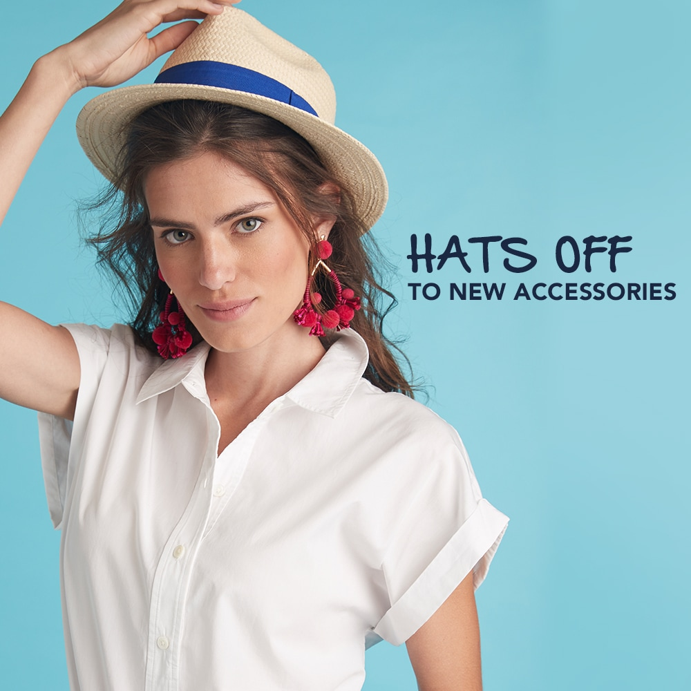 Hats Off to New Accessories. Womens Accessories Shop