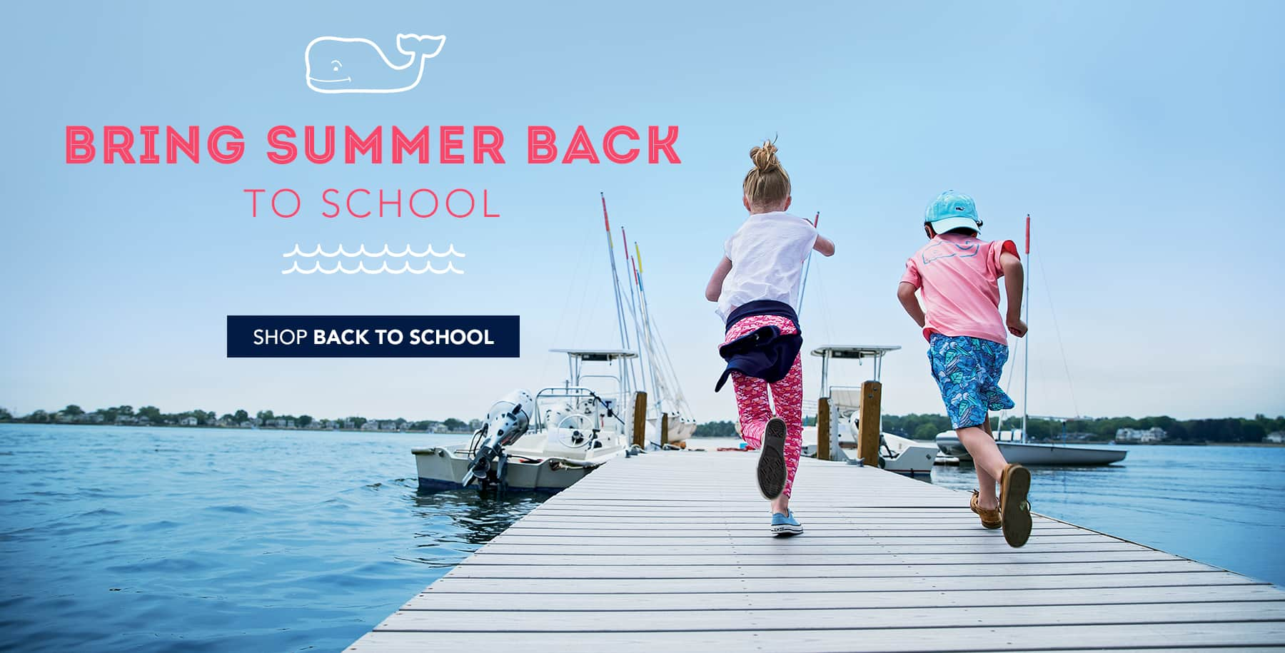 Bring Summer Back To School. Shop Back To School.