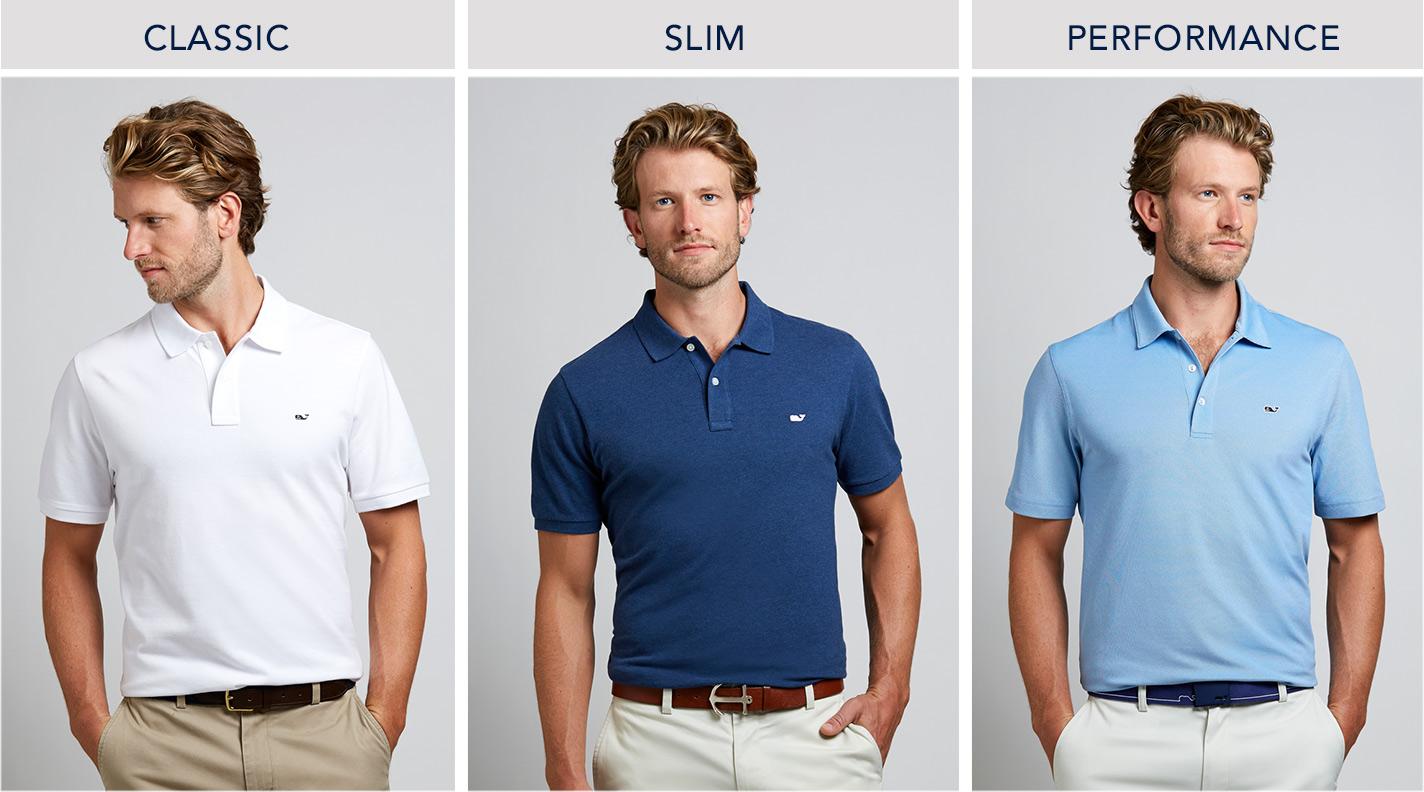 Mens Shirt Fit Guide Slim Classic Fits Vineyard Vines