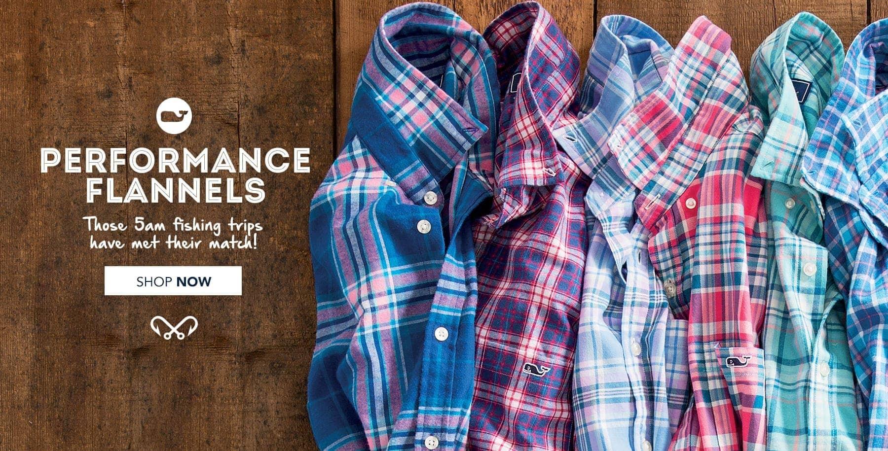 Performance Flannels. Those 5AM Fishing Trips Have Met Their Match. Shop Performance Flannels in Mens Performance Shop