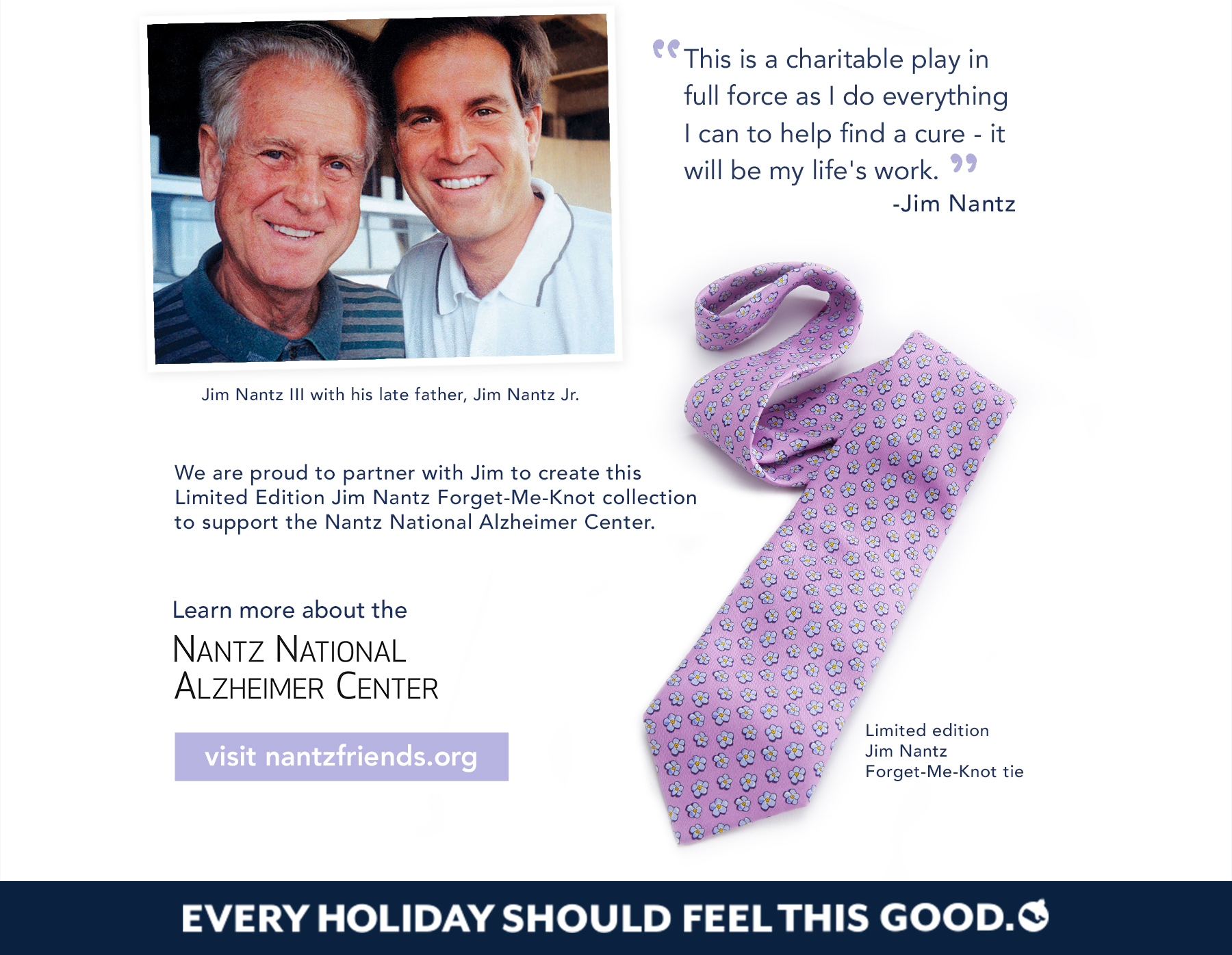 Learn more about the Nantz National Alzheimer Center. Shop now.