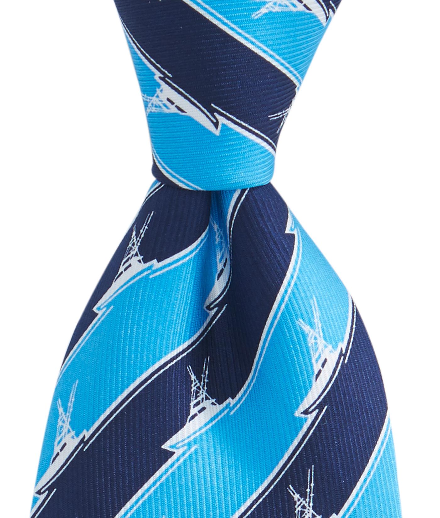 Vineyard Vines Men Sportsfishing Silk NeckTie Pink /& Blue Stripped Style 1T3161