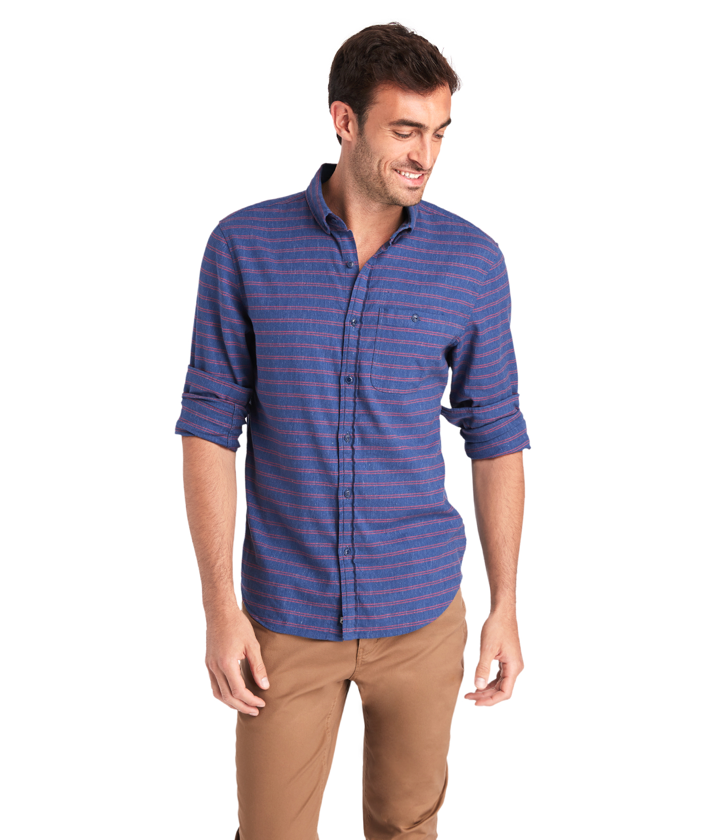 Slim Fit Alder Longshore Shirt