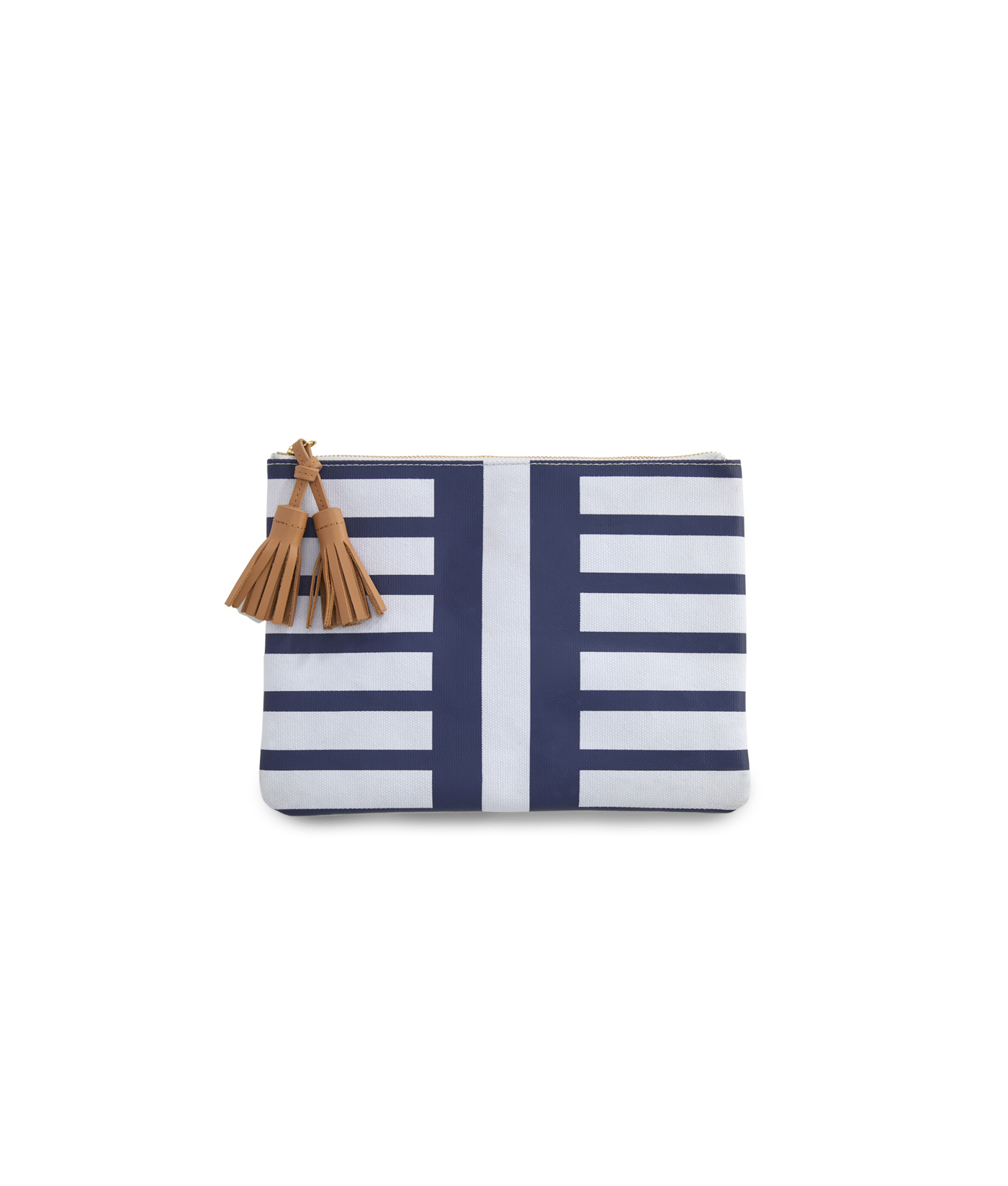 Seaside Stripe Clutch