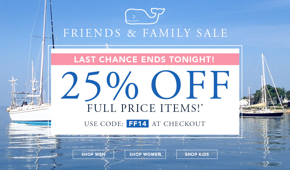 Vineyard Vines Promo Codes & Cyber Monday Deals for November, Save with 4 active Vineyard Vines promo codes, coupons, and free shipping deals. 🔥 Today's Top Deal: 25% Off Sitewide. On average, shoppers save $19 using Vineyard Vines coupons from terpiderca.ga